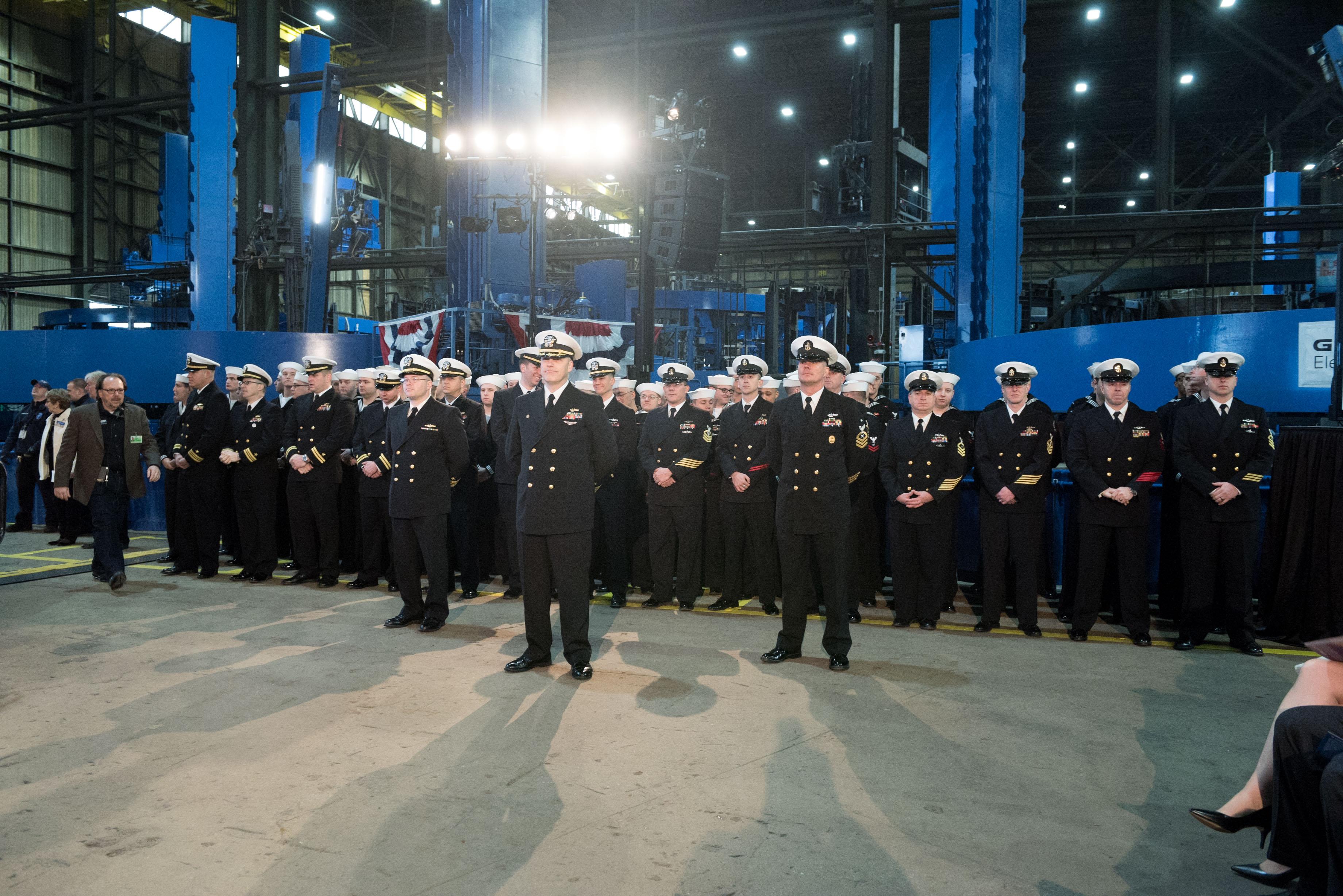 USS South Dakota - General Dynamics Electric Boat - Media
